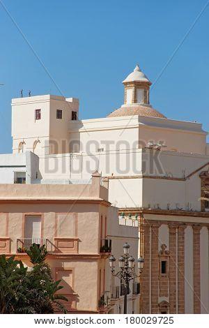 Church Of Santiago Cadiz