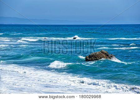Mediterranean Sea In Marbella