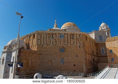 Walls Of Cadiz Cathedral