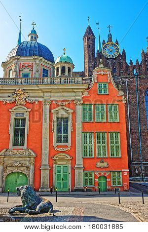 Royal Chapel Of King And St Mary Basilica Of Gdansk
