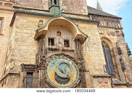 Astronomical Clock Of Old Town Hall In Prague