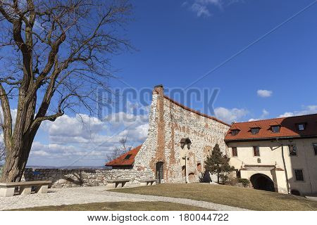Benedictine abbey in Tyniec near Krakow Poland