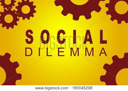 Social Dilemma Concept