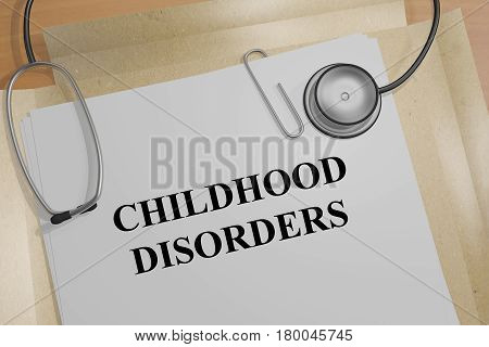 Childhood Disorders - Medical Concept