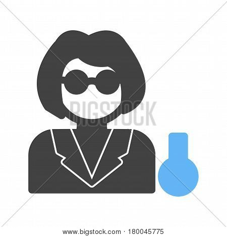 Laboratory, chemist, medical icon vector image. Can also be used for chemistry. Suitable for mobile apps, web apps and print media.