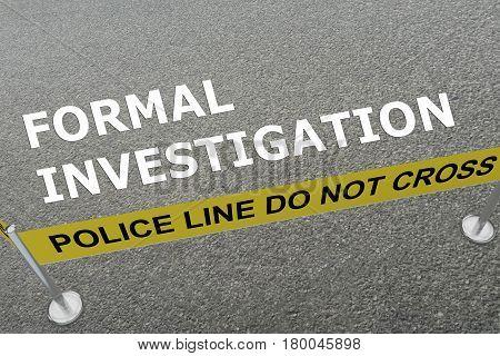 Formal Investigation Concept