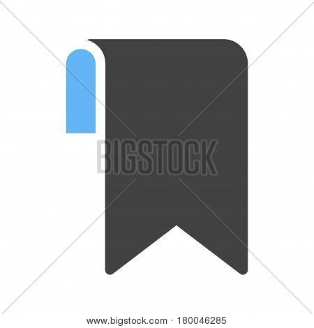 Bookmark, document, sticker icon vector image. Can also be used for web interface. Suitable for mobile apps, web apps and print media.