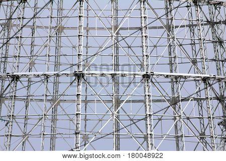 abstract steel truss - modern design