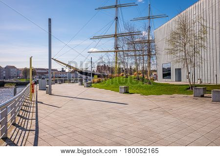 Glenlee sailing ship Riverside Museum, Glasgow Museum of Transport.