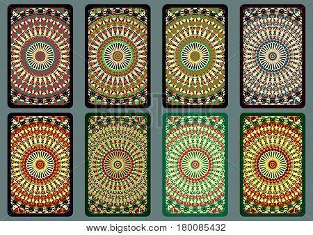 Set Ethnic Business Cards 7.eps