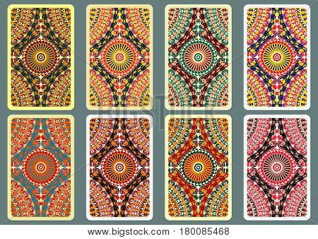 Set Ethnic Business Cards 8.eps