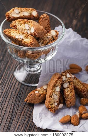 Italian biscotti cookies
