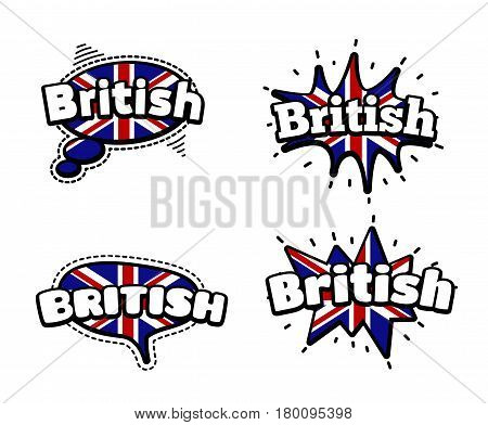 British Speech Bubbles