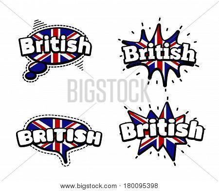 British Speech Bubbles
