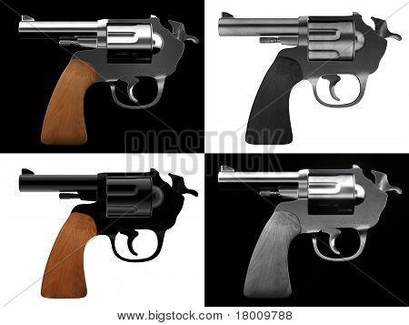 self destruction gun