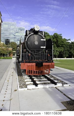 At present the train is not in use. Only preserved as a memorial. Shows in the past.