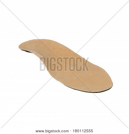 Orthopedic Insoles On White Background
