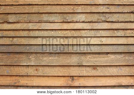 Background of brown and unpainted wooden boards