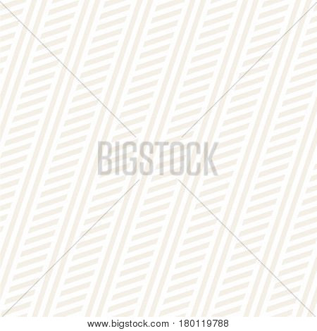 Interlacing Parallel Stripes. Vector Seamless Subtle Monochrome Pattern. Abstract Geometric Background.
