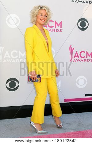 LAS VEGAS - APR 2:  Cam at the Academy of Country Music Awards 2017 at T-Mobile Arena on April 2, 2017 in Las Vegas, NV