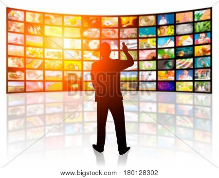 television tv stream smart broadcast video network