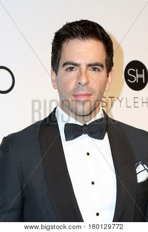 LOS ANGELES - FEB 26:  Eli Roth at the Elton John Oscar Viewing Party 2017 at the City of West Hollywood Park on February 26, 2017 in West Hollywood, CA