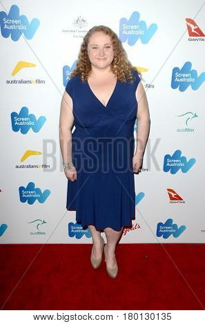 LOS ANGELES - FEB 24:  Danielle Macdonald at the Screen Australia and Australians in Film Oscar Nominees Reception at Four Seasons Hotel on February 24, 2017 in Beverly Hills, CA