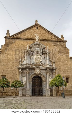 Church of Santos Justo y Pastor is ornate churches in Grenada Spain.