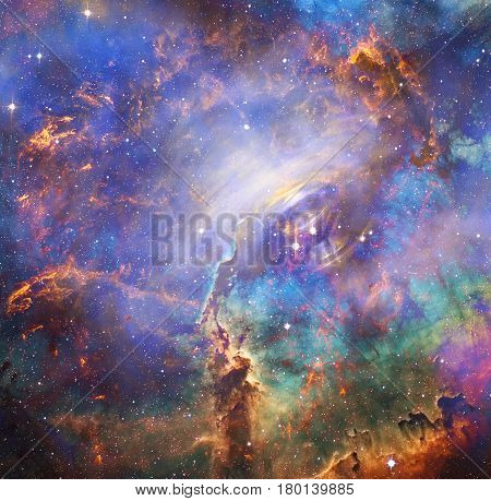 Beautiful galaxy. Elements of this Image Furnished by NASA