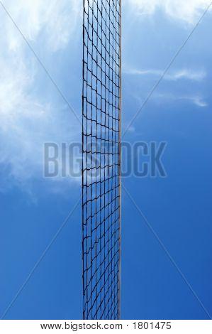 Beach Volleyball Net Against Sky