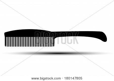 comb vector icon , comb black icon ,