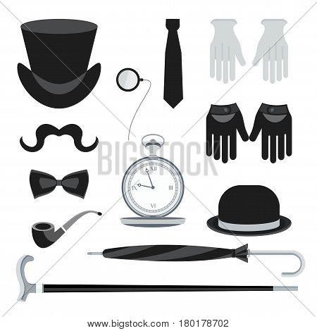 Set Of Gentleman