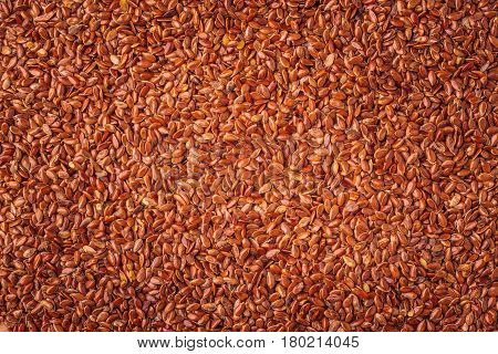 Flax Seeds Linseed As Natural Food Background
