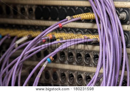Broadcast Live Tv Cables Detail
