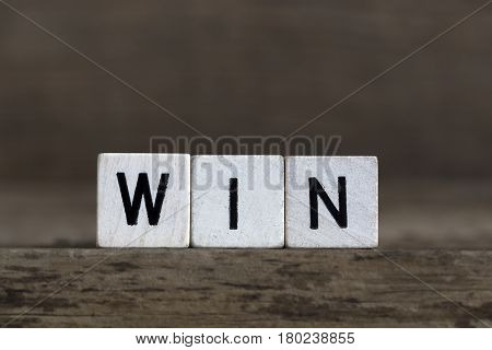 Win, Written In Cubes