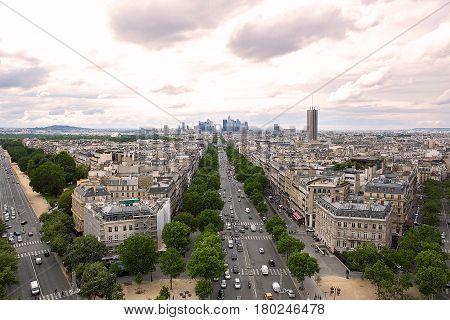 avenue des Champs-elysees paris world places here