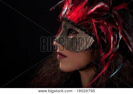 Mardi Mask