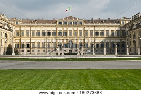 Monza (Brianza Lombardy Italy): exterior of the historic Royal Palace
