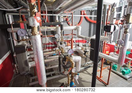 Tubes in heat and air conditioning system