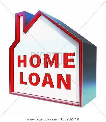 Home Loan Means Fund Homes 3D Rendering