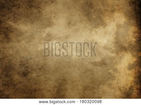 Old dirty or grunge paper background. Aged paper texture for the design.