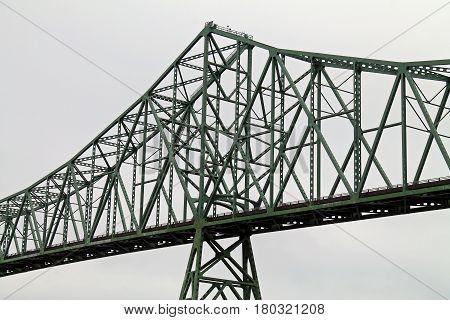 Astoria-Megler Bridge Spanning the Columbia River, Astoria, Oregon