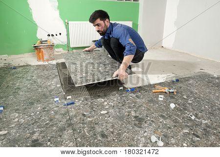 Home improvement - Laying Ceramic Tiles