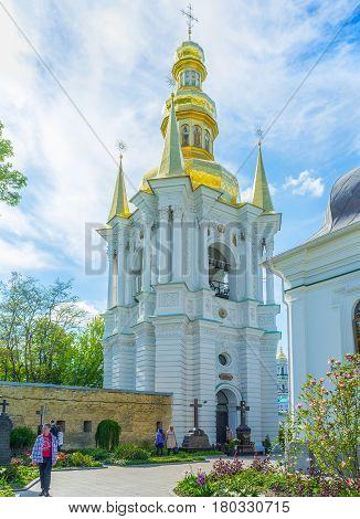 Visiting Kiev Pechersk Lavra