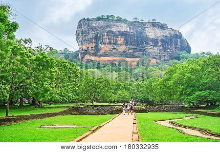 The Beauty Of Sigiriya