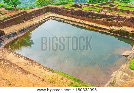 Water Reservoirs In Sigiriya