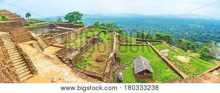 The Terraces On Sigiriya Rock