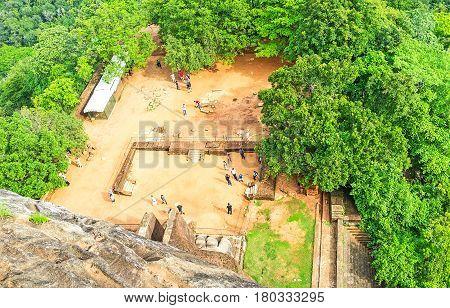 The Sites Of Sigiriya Fortress