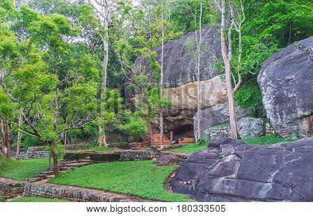 The Caves In Sigiriya