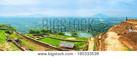 The Landscapes From Sigiriya Rock